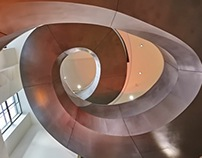 Wellcome Collection Stair by Wilkinson Eyre Architects