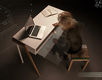 workspace | extendable desk top