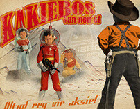 Kakiebos Calendar 2011 - Vintage Advertising Theme