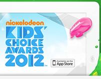 Nickelodeon KCA iOS App: Case Study