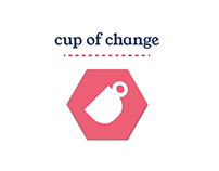 Branding guidelines for cup of change