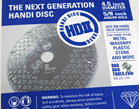 Handi Disc Deux Logo and Label