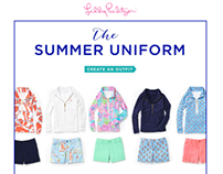 Lilly Pulitzer Email Campaigns
