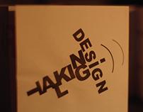 Talking Design Promotional Booklet