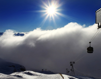 In and Above the Clouds; Alpe d'Huez