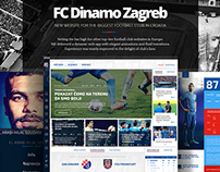 New Website for the football club FC Dinamo Zagreb