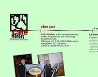 Website: Café måndag (2002)
