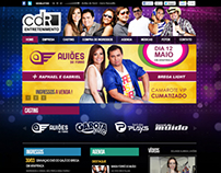 Site CDR Entretenimento