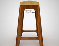 stool -DINGGOE- dingklik glugu chair