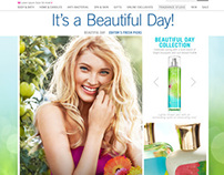 Beautiful Day Spring Guide for Bath and Body Works.