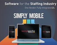 TempWorks ASA Staffing World 2012 Graphics & Video