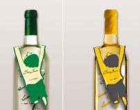 Cono sur  wine neckhanger