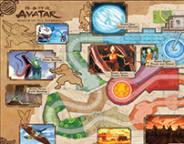 AVATAR: THE LAST AIRBENDER: Ride Map