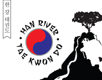 Han River Tae Kwon Do logo
