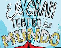 Afiche de Teatro . El Gran Teatro del Mundo