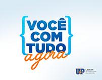 Campanha Você com Tudo Agora - Vestibular 2017.1 - UnP