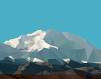 Pure CSS Mount Denali