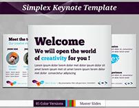 Simplex Keynote Template
