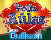 Panfleto - Lojas Duilson