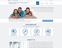 Strang Heating and A/C Inc. Template