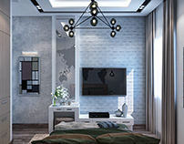 Artistic Modern Bedroom