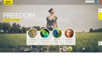 iCarus, WordPress FullScreen Creative Portfolio Theme