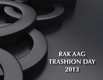 RAK AAG Trashfashion Day Theme