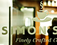 Identity for Simon Sips Cafe