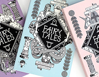 BLANK SPACE / FAIRY TALES BOOK COVERS