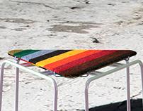 Telar stool