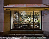 AïOLI Cantine Bar Café Deli by A+D Retail Store Design