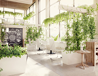 """Bento"" Restaurant interior"