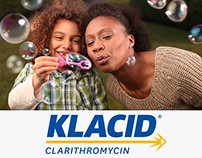 Klacid Rebrand & Global Advertising