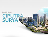 Ciputra Surya - Corporate Website