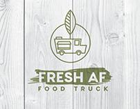 Food Truck Logo + Web Design Mock Up