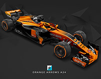 Orange Arrows A24 Livery Concept