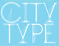 The London Eye semi-serif typeface