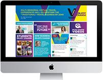 Enjoy Change campaign website Vlerick Business School