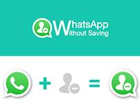 WhatsApp Without Saving - Logo