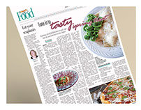 Food Page for PEI's The Guardian
