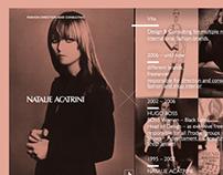 Natalie Acatrini - Personal Website