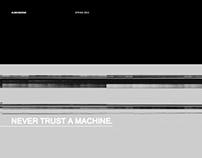 Never trust a machine
