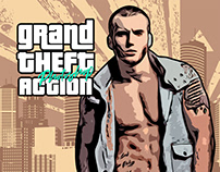 GTA - Mafia Painting Photoshop Action