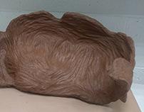 Warped - Volumetric Clay Sculpture