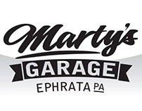 Marty's Garage Logo