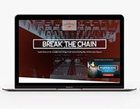 The Pennant Restaurant Website Design