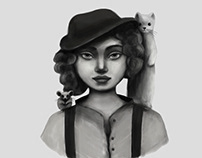 Animals and Girls\Illustration series