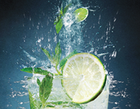 Mojito - Ananas Table Adv