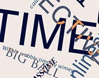 Time Typography Poster