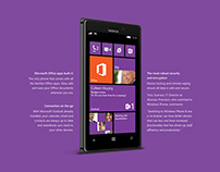 Windows Phone / Nokia925 - A4 Print Ad - LIVE WORK